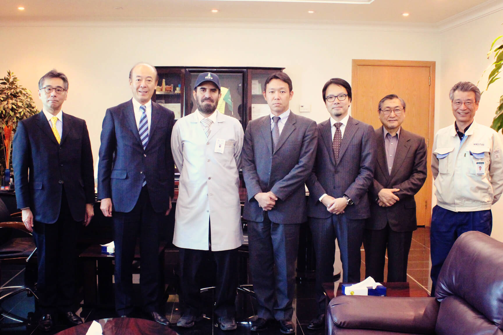 HIPF Welcomes Mr. Yasuhito HIROTA   Member of the Board Mitsubishi Corporation,