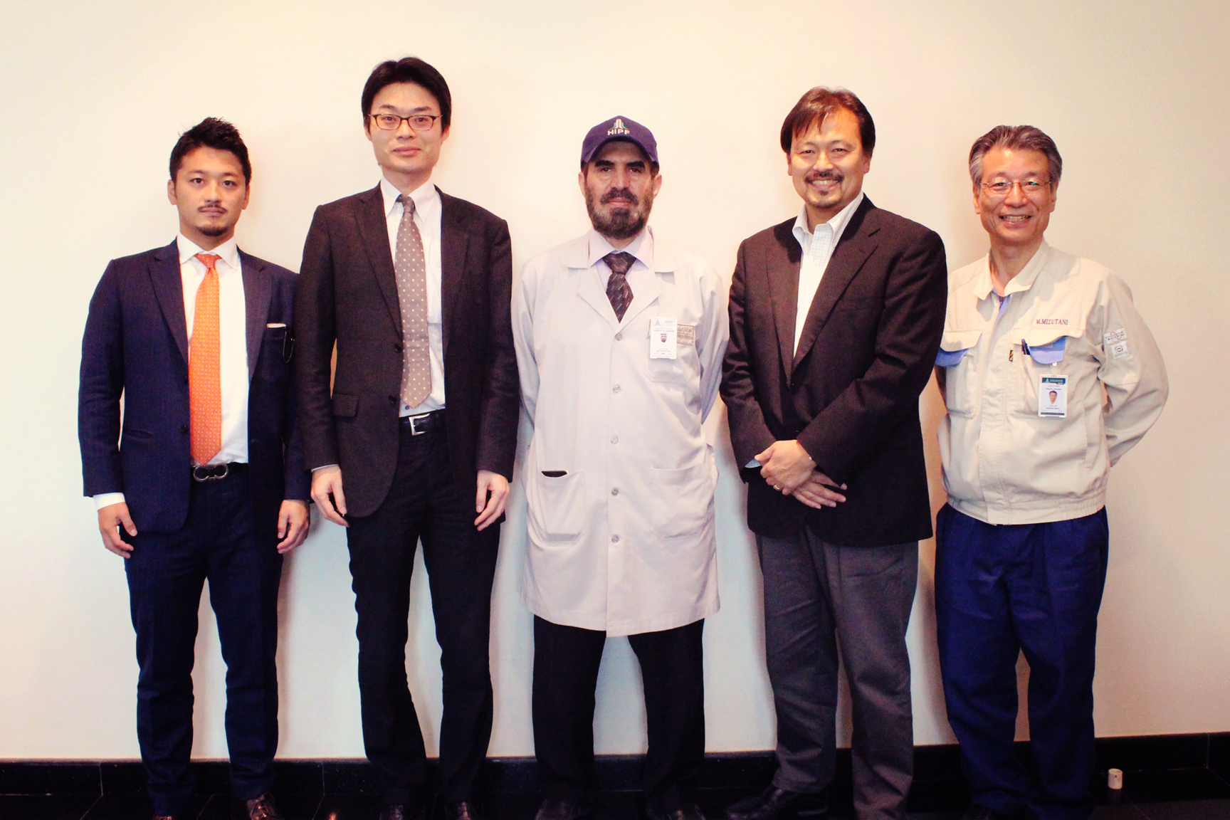 Visit of Mr. Makoto Shimada, director of the Business Group, Mitsubishi Corporation