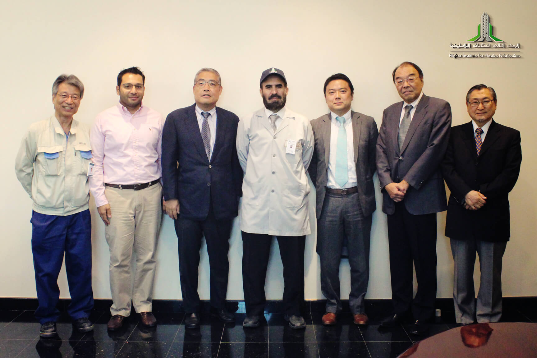 HIPF Welcomes Delegates from Mitsubishi Corporation, Dubai base.