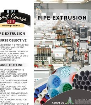 Pipe Extrusion