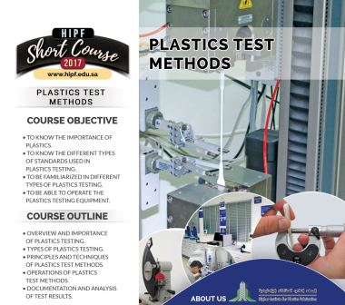 Plastics Test Methods