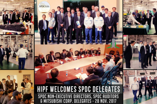 Visit the Non-Executive Directors of the company SPDC