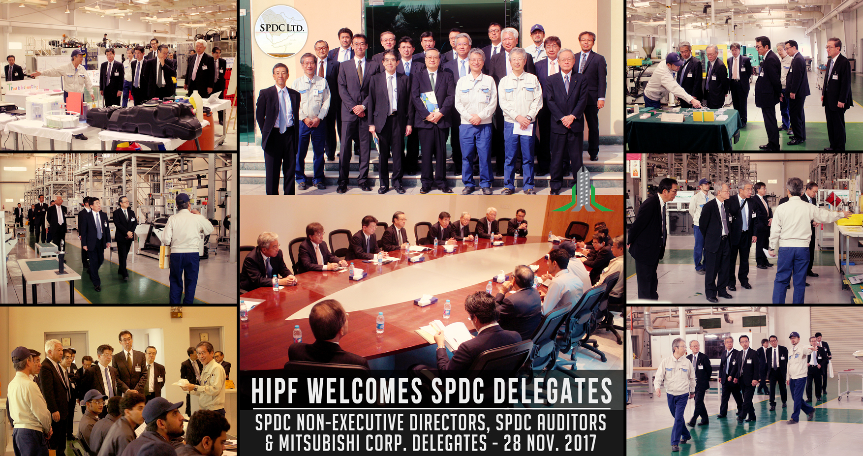 Non-Executive Directors of SPDC visit